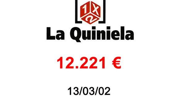La Quiniela 12.221 €