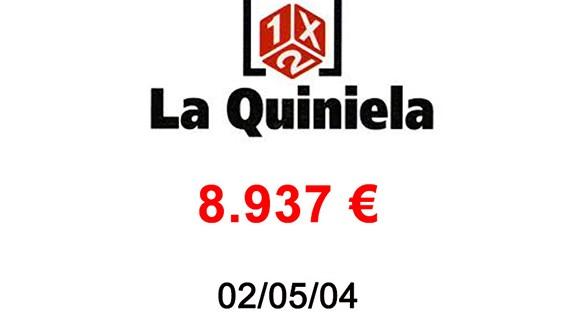 La Quiniela 8.937 €