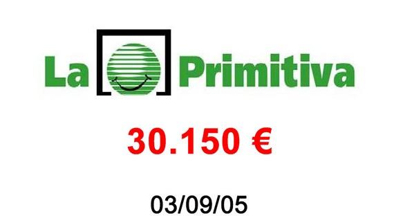 La Primitiva 30.150 €