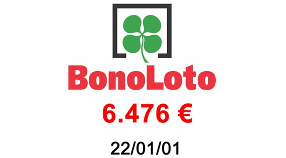 Bonoloto 6.476€