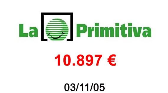 La Primitiva 10.897€