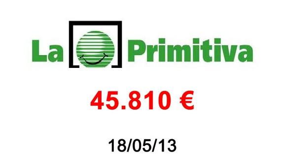 La Primitiva 45.810€